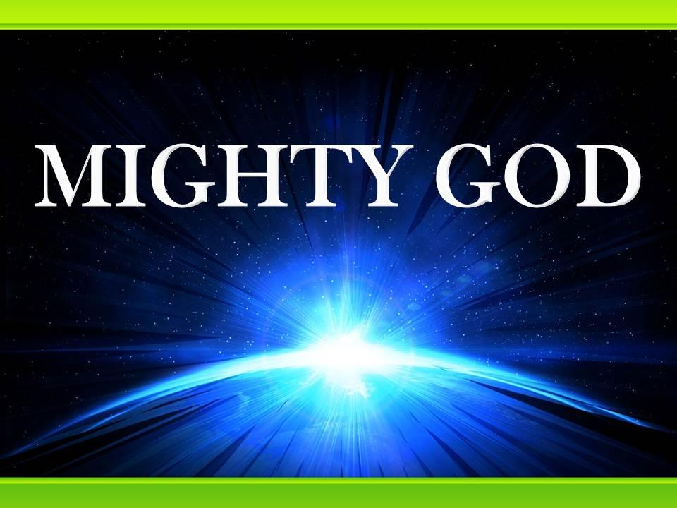 MIGHTY-GOD