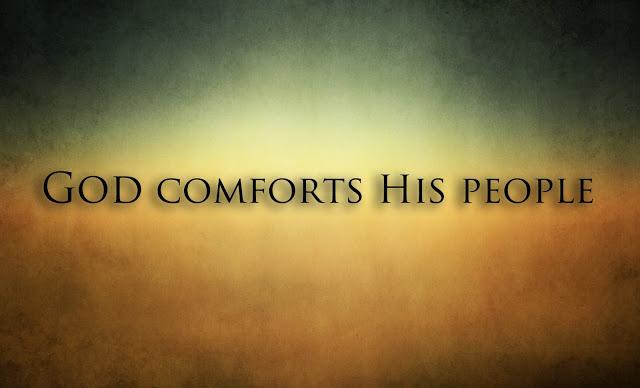 comfort - God Comforts His People