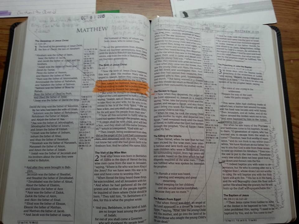 Bible - Mine - Matthew