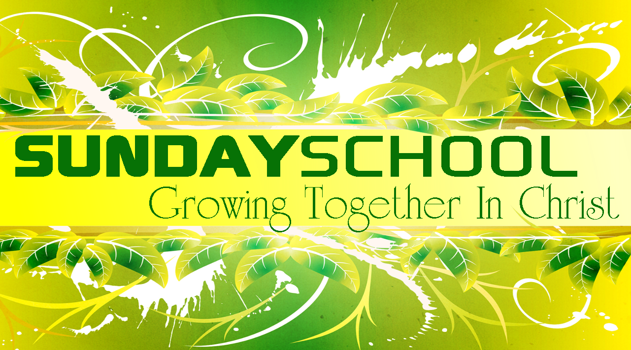 sunday-school Growing together in Christ
