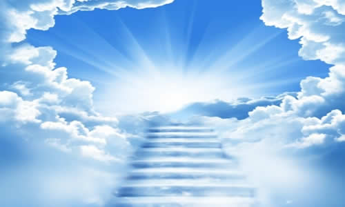 Heaven - stairs to
