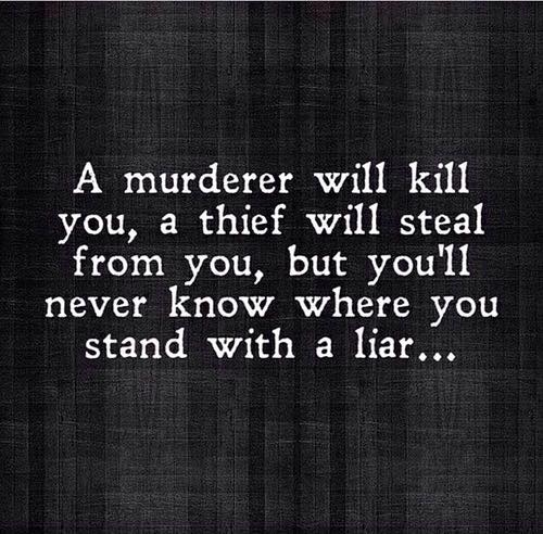 Liar - Never Know Where You Stand